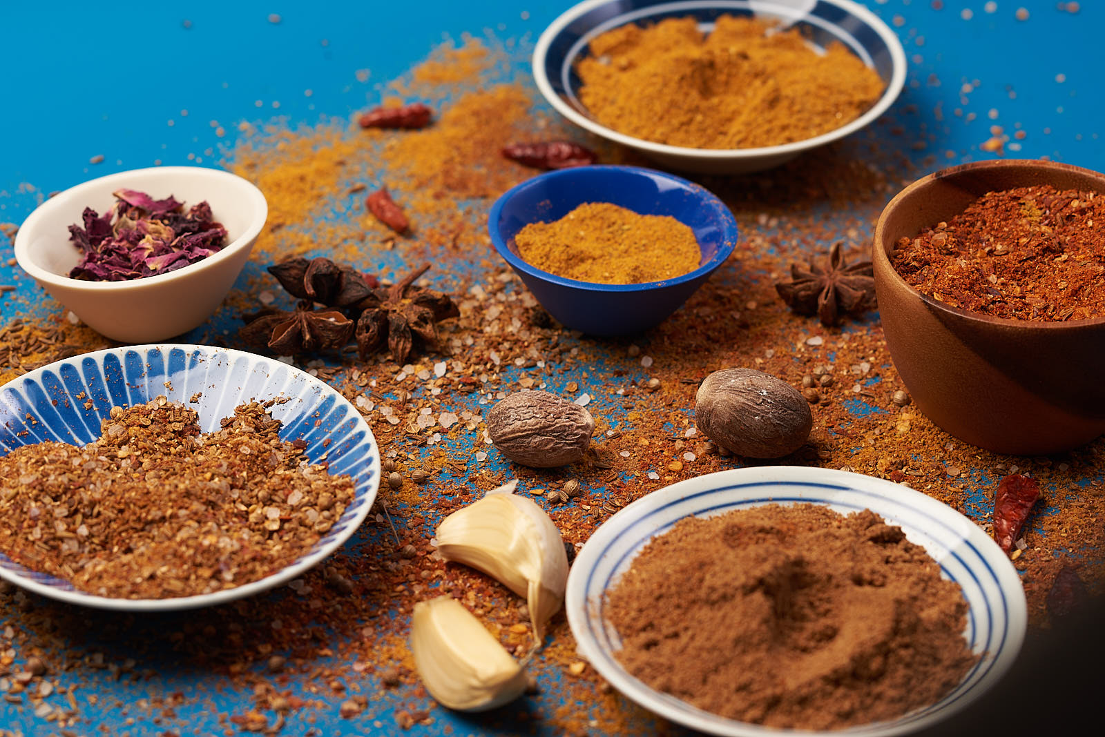 Pastiche Spice Blends and Ingredients